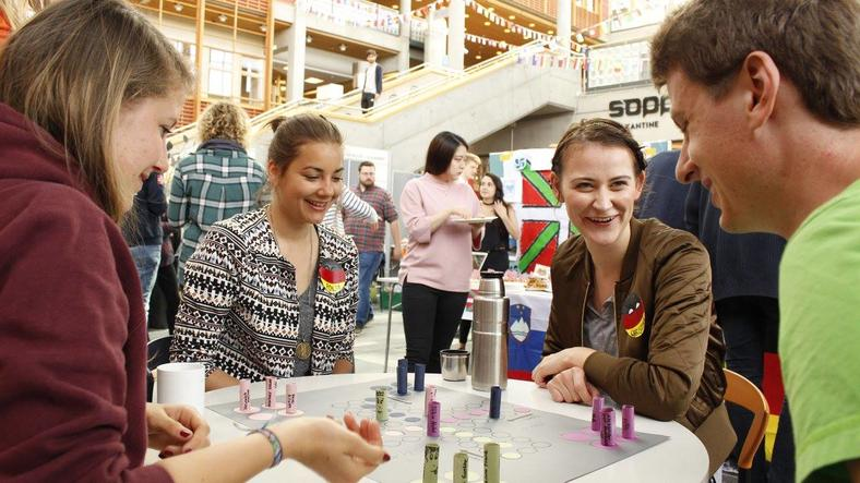 Students during International Day 2017 (photo: INN University)