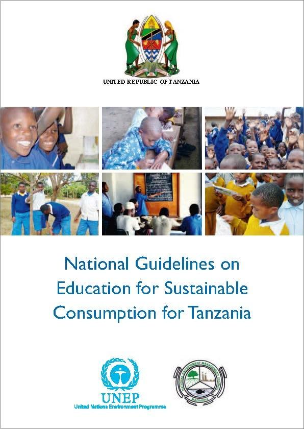 national_guidelines_on_education_for_sustainable_consumption_esc_for_tanzania Front