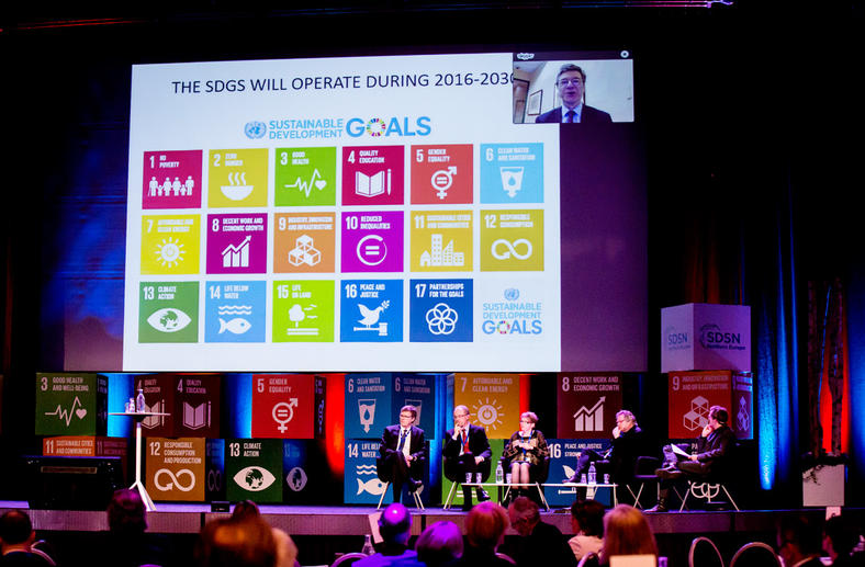 Promoting the Sustainable Development Goals