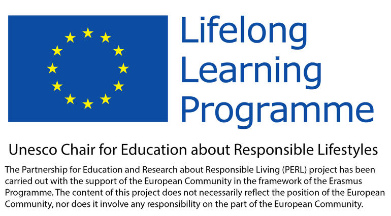 Lifelong Learning Programme - Unesco Chair for Education about Responsible Lifestyles 3